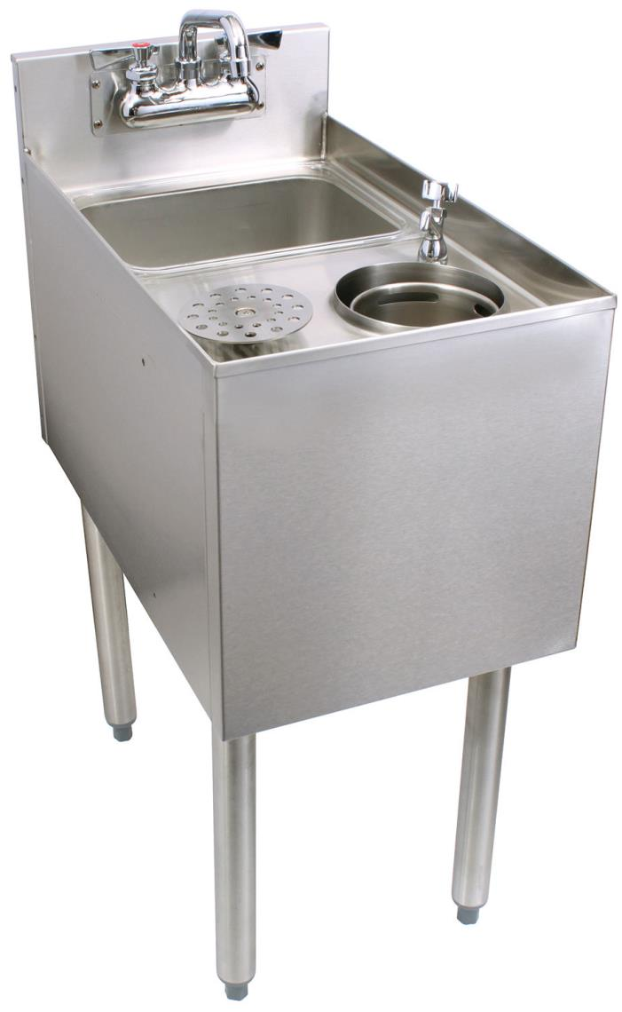 Glastender C-MTS-14 Stainless Steel Mixology Unit 14