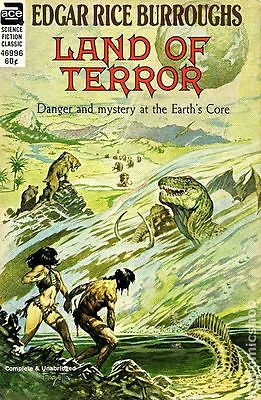 Land of Terror PB (1964 Novel Ace Sci-Fi Classic) #1-1ST VG LOW GRADE