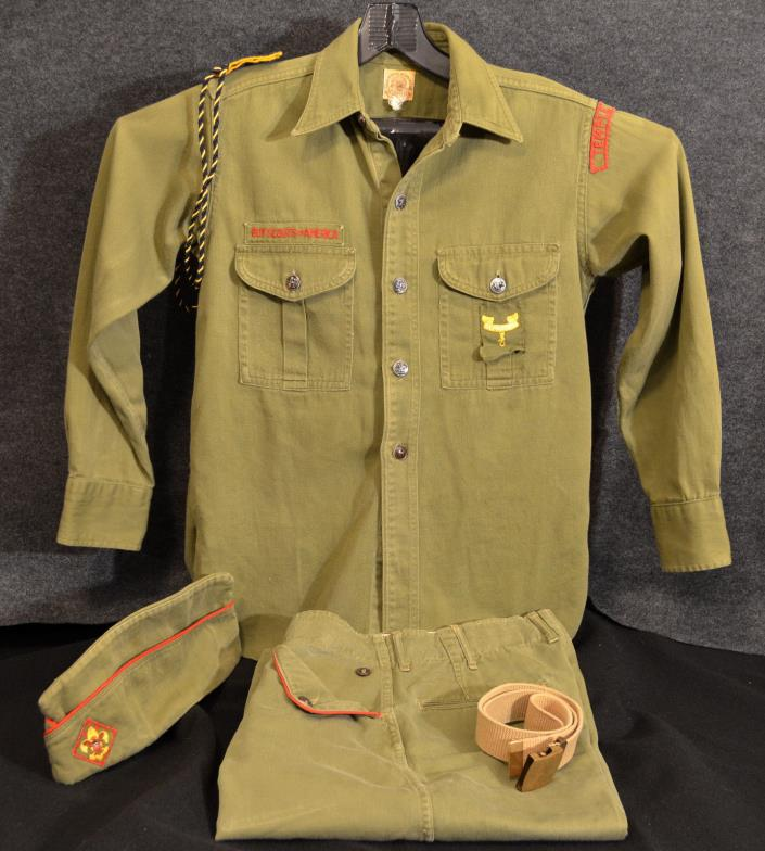 C715 OA BSA Scouts 1953 NATIONAL JAMBOREE UNIFORM LOT VINTAGE