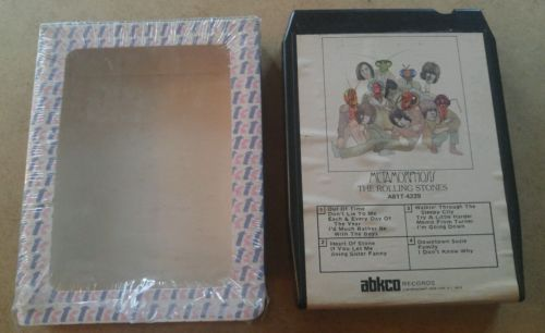 Metamorphon by The Rolling Stones  8 track tape tested w/sleeve
