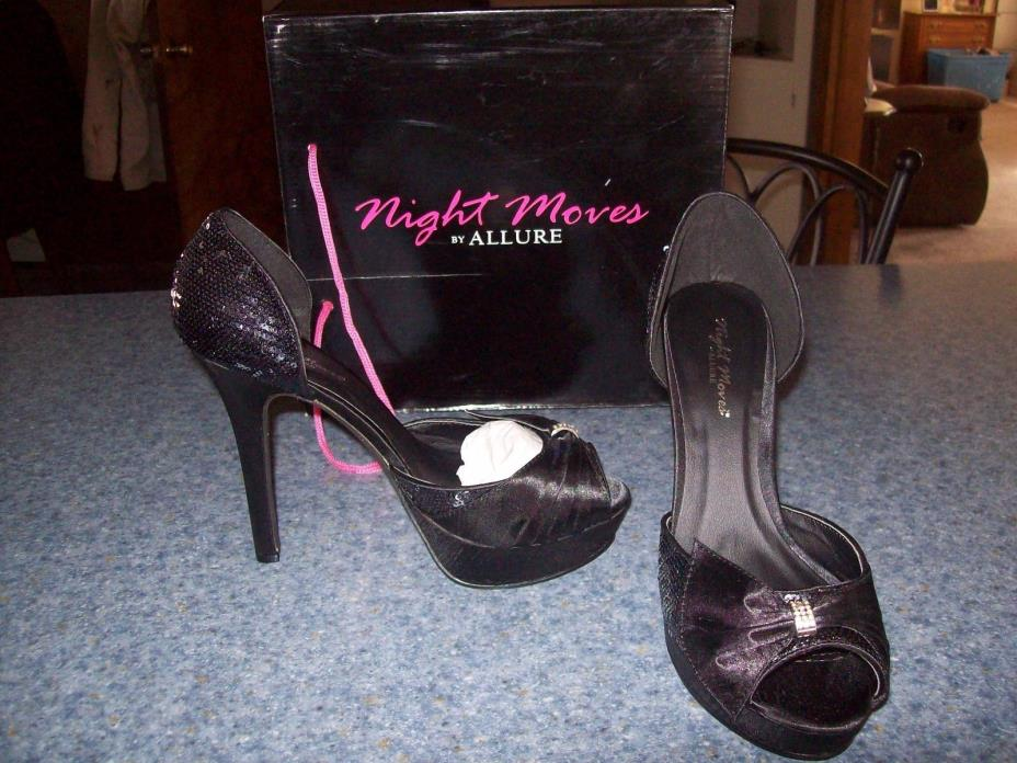 Night Moves by Allure Starlight pumps shoes black 4
