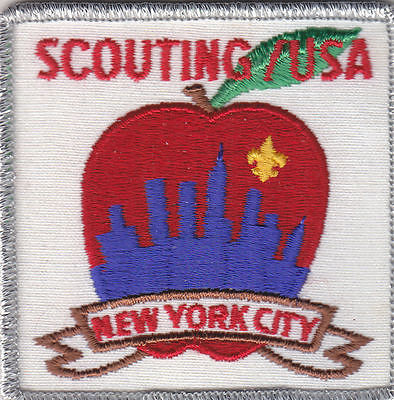 B-1687 SCOUTING USA NEW YORK CITY