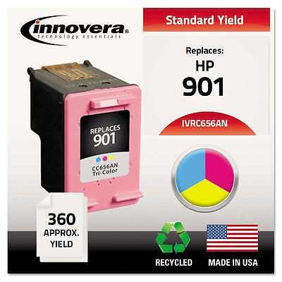 Innovera Remanufactured CC656AN (901) Ink, Tri-Color 686024124733