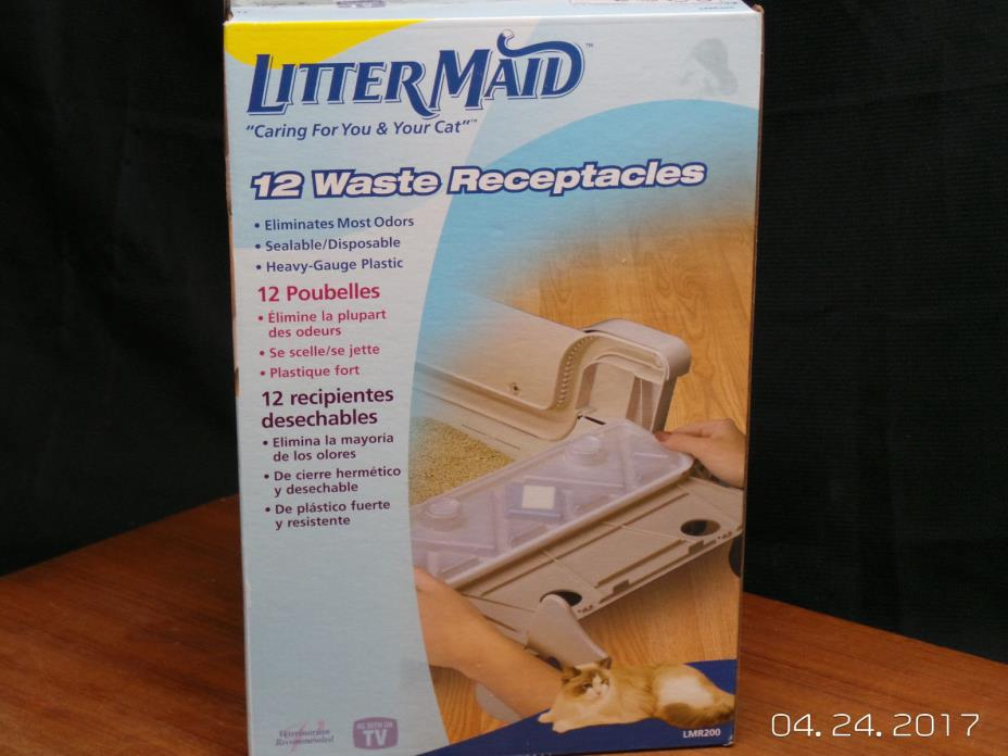 Littermaid Lmr 200 Waste Receptacles Pack Of 12