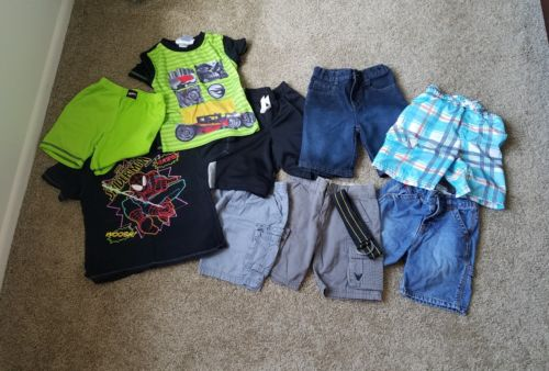 lot of boys summer clothes