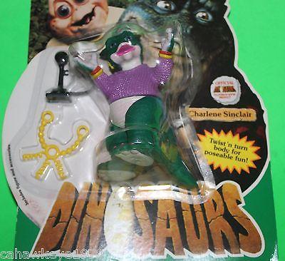 VINTAGE HASBRO DISNEY TV SHOW DINOSAURS CHARLENE SINCLAIR BROKEN SEAL 1991