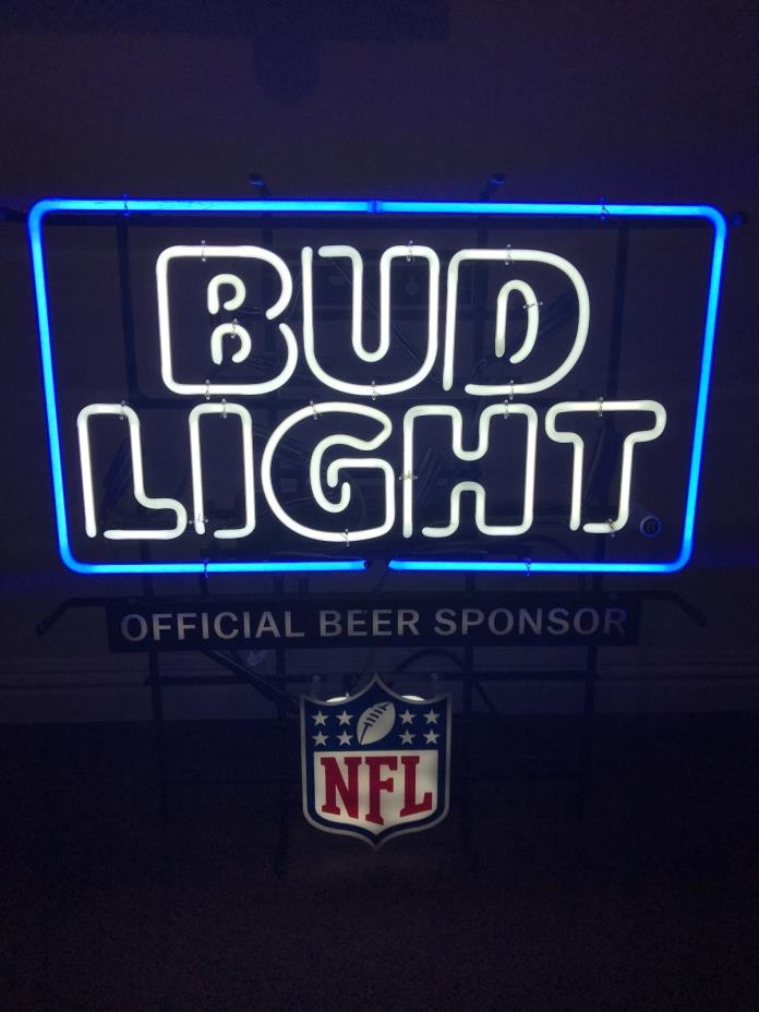 Bud Light Man Cave Signs : Bud light nfl for sale classifieds