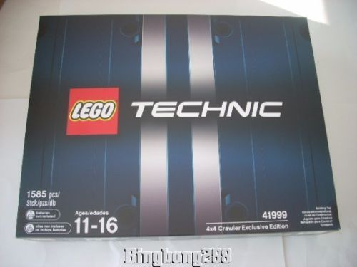 LEGO 41999 TECHNIC 4 x 4 Crawler Exclusive Limited Edition Truck - NEW & SEALED