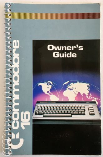 Commodore 16 Owner's Guide 1984