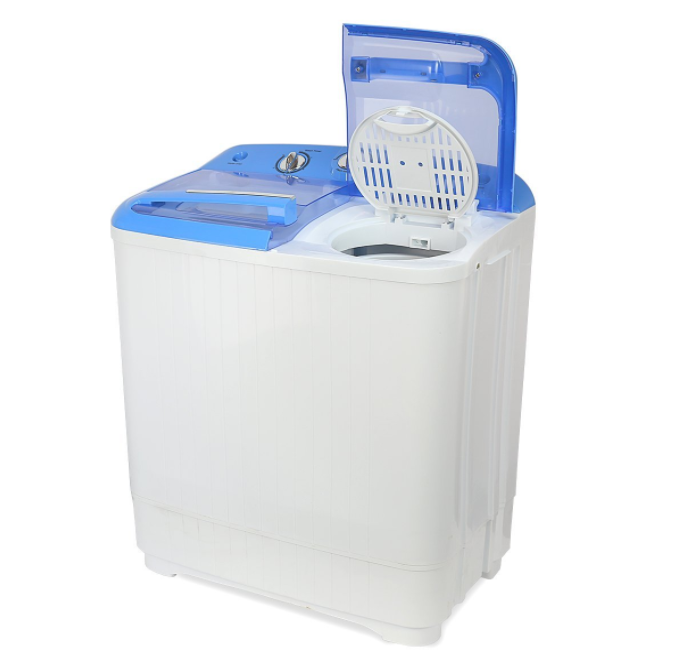 Compact Washing Machine Small Apartment Mini Washer RV Clothes Camping Top Load