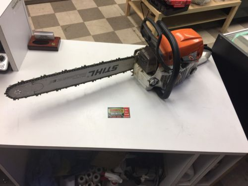 Stihl MS362 Chainsaw Runs Great Top Cover Has A Hairline Crack Excellent