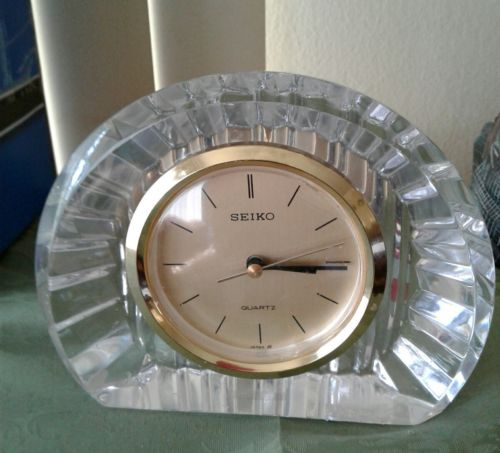 SEIKO crystal clock