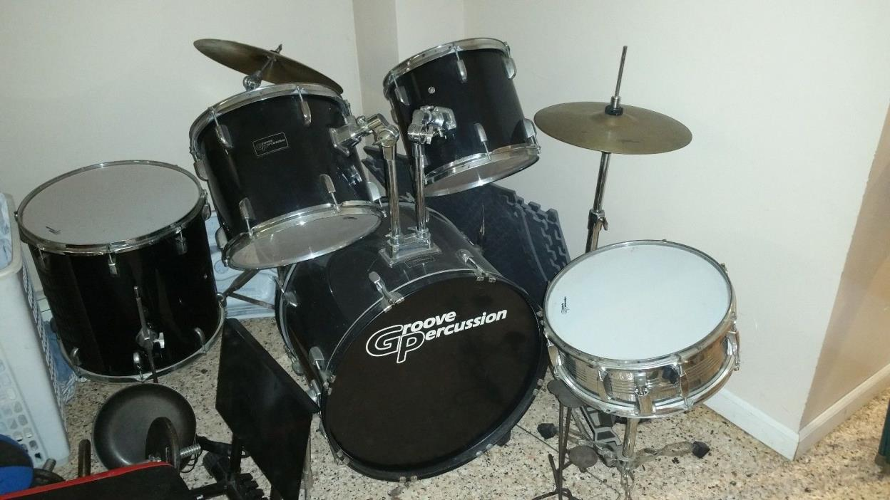 sunlite 5 piece drum set for sale classifieds. Black Bedroom Furniture Sets. Home Design Ideas