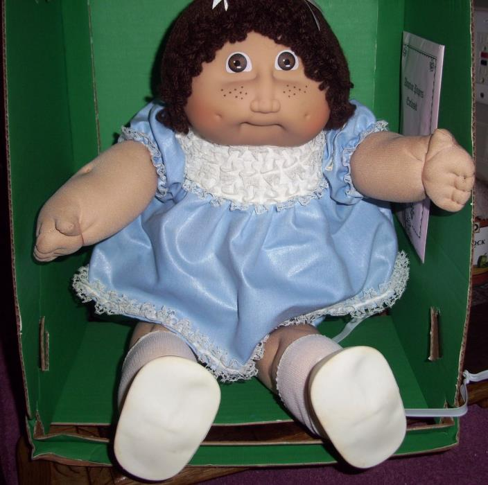 Gorgeous Jesmar Cabbage Patch Kid- HTF Outfit, made in England