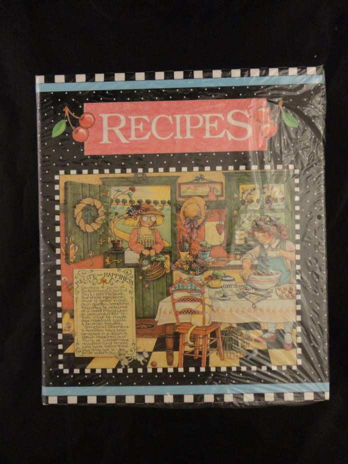 Vintage 1992 Mary Engelbreit Recipes Organizer