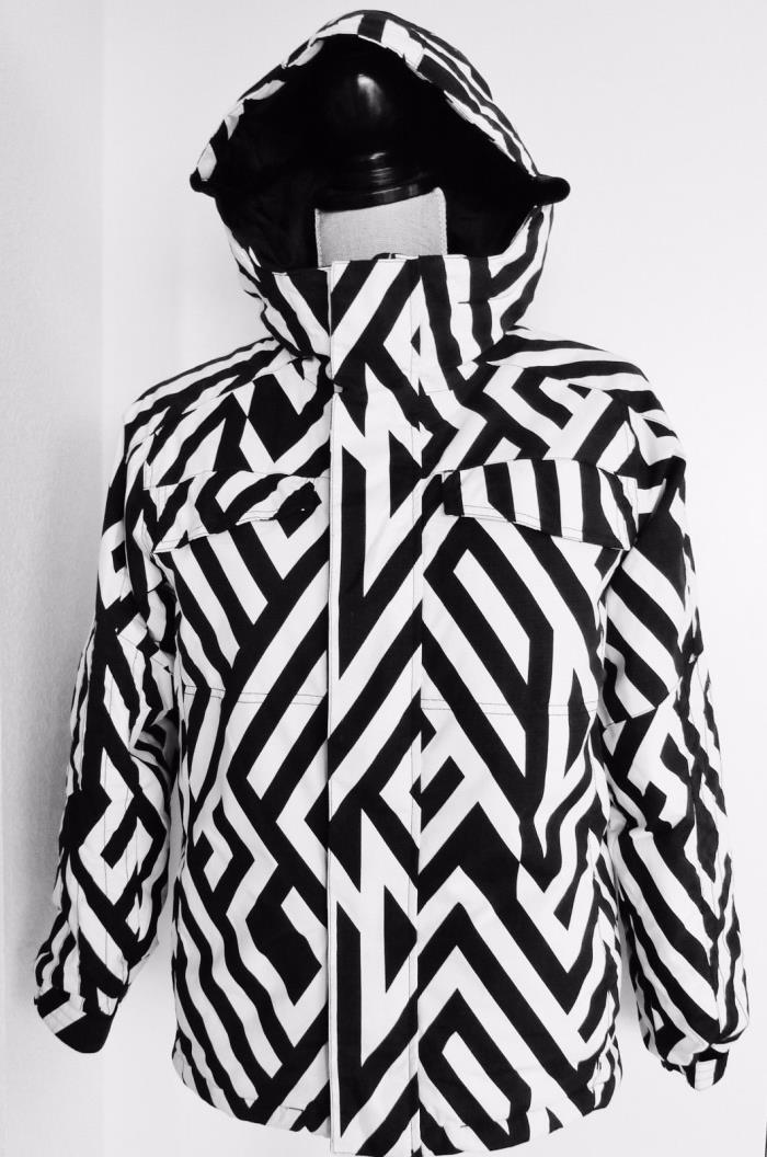 NEW Burton DryRide Hooded Winter Ski Snow Sports Insulated Jacket, BOY's L,10/12