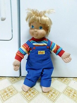 1986 Hasbro Playskool Blonde My Buddy Doll No Hat No Shoes