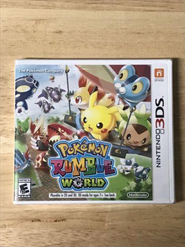 Pokémon Rumble World (Nintendo 3DS, 2016) Brand New!!! Plz Read Description