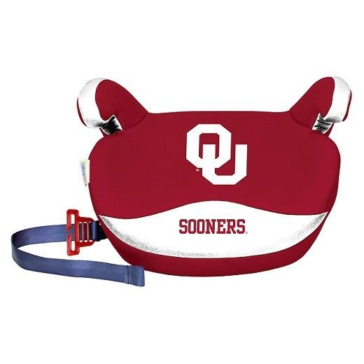 Lil Fan No Back Booster Slimline College Car Seat Machine Wash Oklahoma Sooners