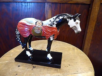Painted Pony 12264 Crazy Horse Figurine Limited Edition Mint NIB