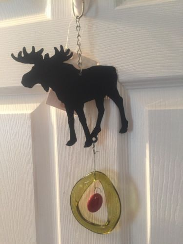 Authentic Woodstock Moose Wind chime