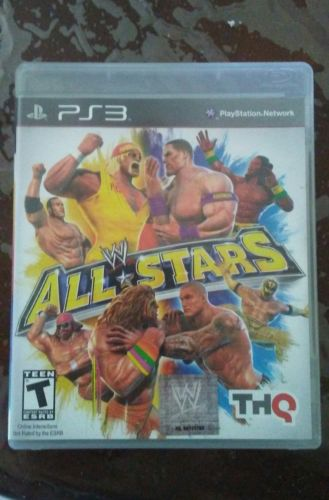 WWE All Stars Sony PS3 GAME WRESTLING