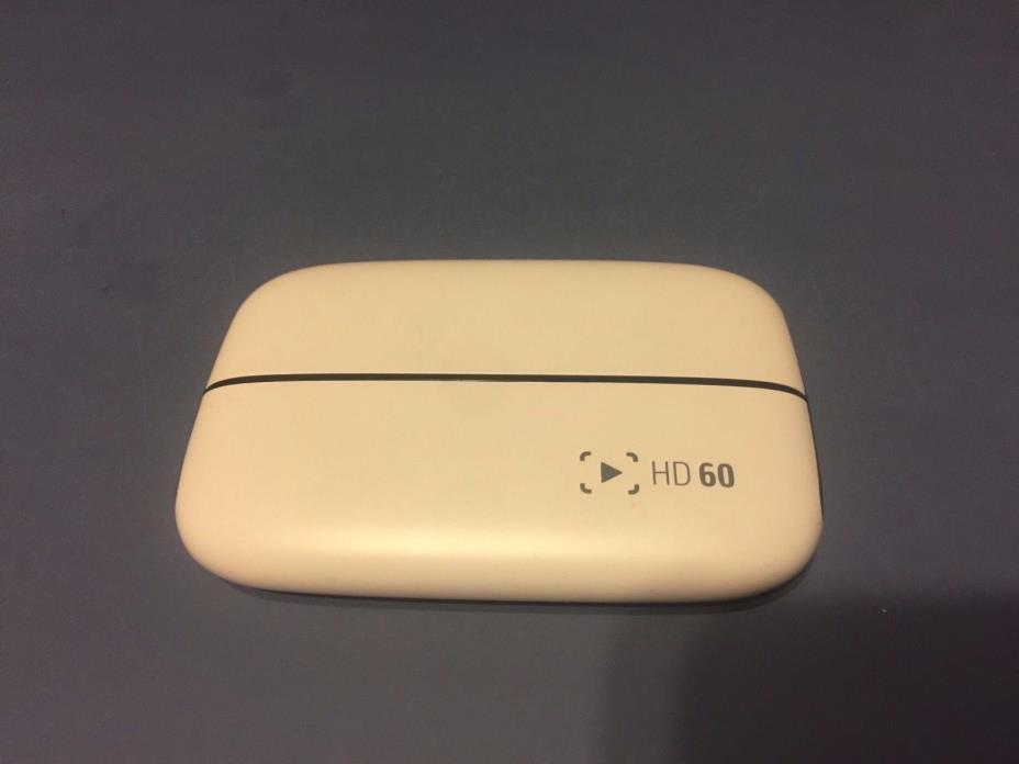 RARE Elgato Game Capture HD60 - Glacier White Limited Edition for PS4, Xbox One