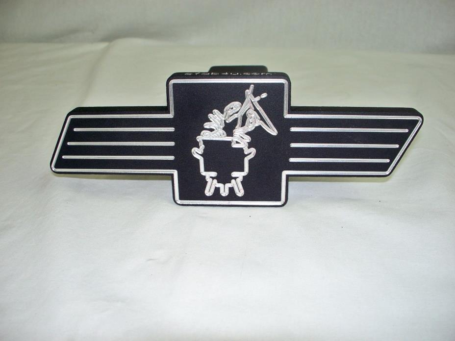 Custom Hitch Cover, Chevy Bowtie, Crawfish Pot, Billet Aluminum