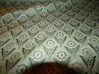SCALAMANDRE SILK LAMPAS JACQUARD DITZY  UPHOLSTERY 9 YARDS  ONLY TO THE TRADE