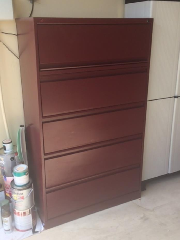4 Drawer Lateral Filing Cabinet w/Top Storage Area