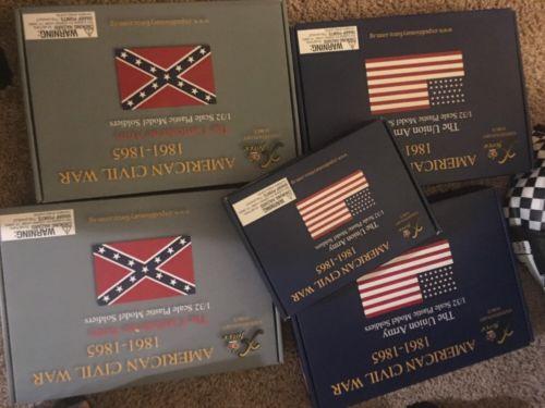 Civil War Confederate & Union 5 Sets
