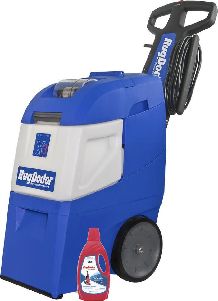 The Rug Doctor Portable Spot Cleaner is ready when you need it—so you can get back to your life! Includes: 3 each - Rug Doctor 32 oz. Portable Machine and Upholstery Cleaner/5(74).