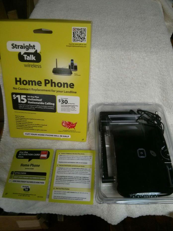 Straight Talk Huawei H226C Prepaid Wireless Home Phone Device - Mint Condition