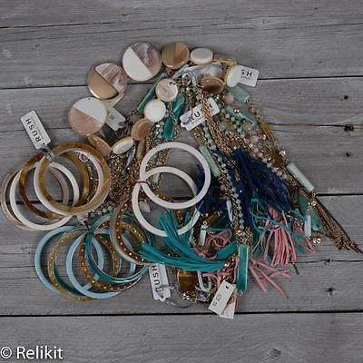 Rush By Denis & Charles Lot of 13 Necklaces And Bracelets