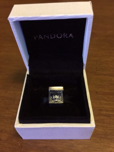 Pandora Club Exclusive Limited Edition Sterling Silver/Diamond Heart Charm-New!