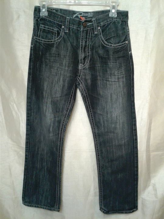 REQUEST JEANS PREMIUM BUCKLE BKE BOYS JEANS THICK STITCH FLAP POCKET SIZE 16