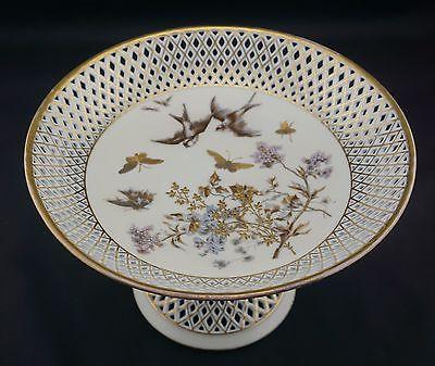 Antique Fischer & Mieg Bohemian Compote - circa 1850-1870 - Gorgeous!