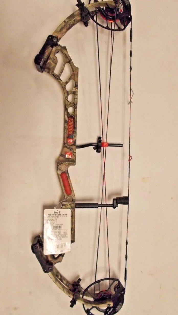 PSE Source SC Camo RH 70lb Compound Bow New