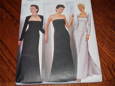 BUTTERICK EVENING DRESS AND SHRUG  PATTERN #6533  SIZE 12-14-16  COMPLETE