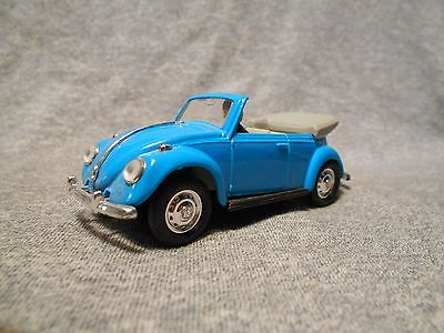 1967 Volkswagen Convertible 1:43 scale Aqua Made in China