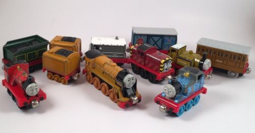 Thomas The Train Wooden Trains Huge Lot!