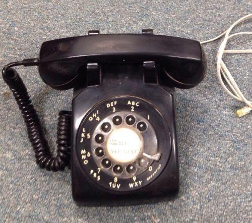 Stromberg Carlson Rotary Bakelite Home Desk Phone Land Line Vintage Retro ***