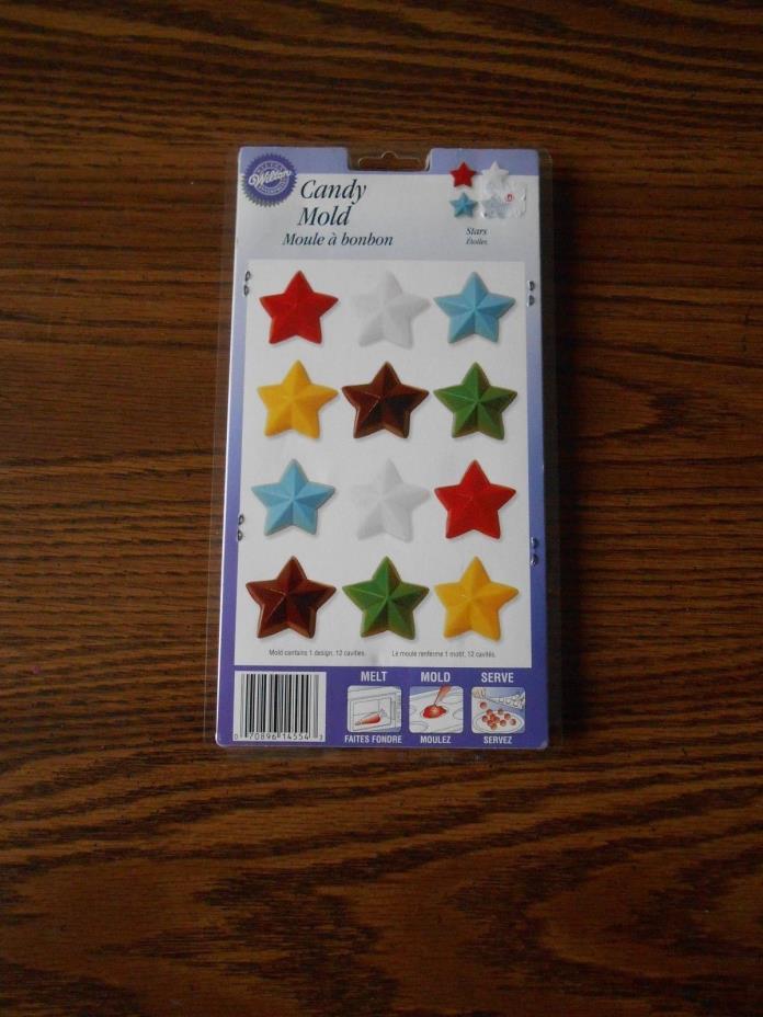Wilton Stars candy mold  NEW