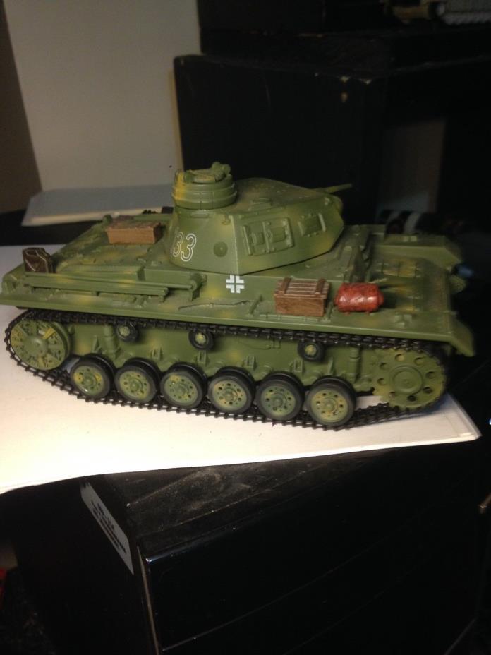 Rare 21st Century-Ultimate Soldier 1/32 German Panzer III Tank Normandy