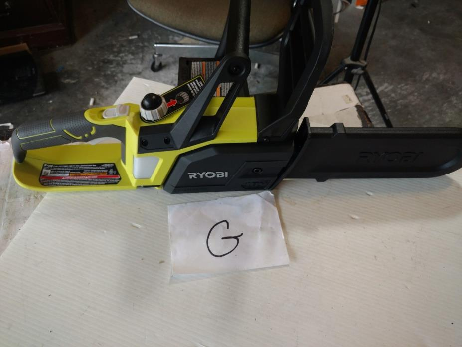 Ryobi ONE+ Chainsaw Lithium 10 In. Bar Cordless 18V Lithium Chain (Tool Only)