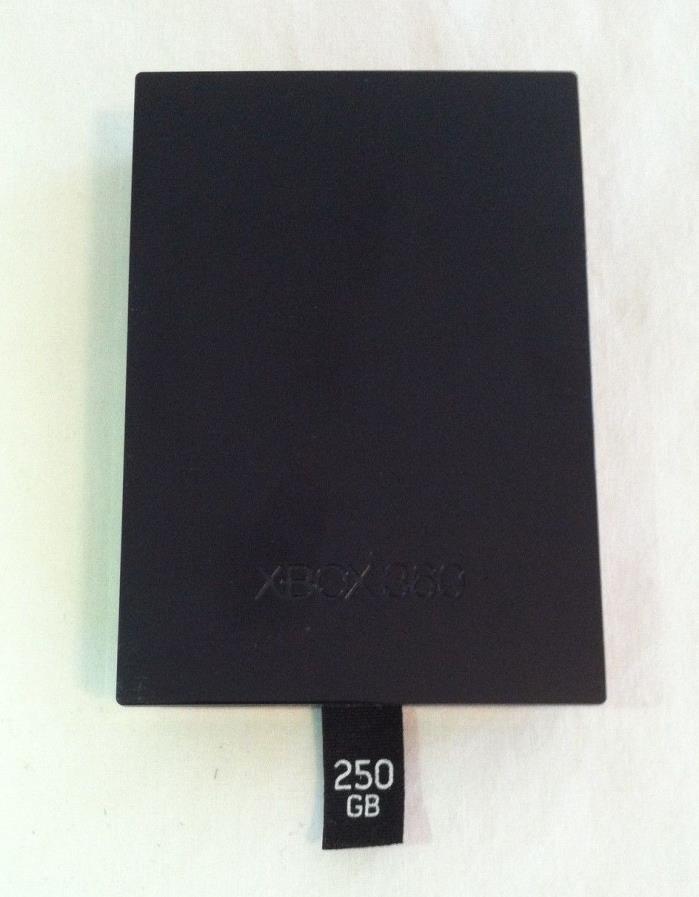Genuine Microsoft Xbox 360 Slim 250GB Hard Drive Disk HDD OEM ~TESTED~