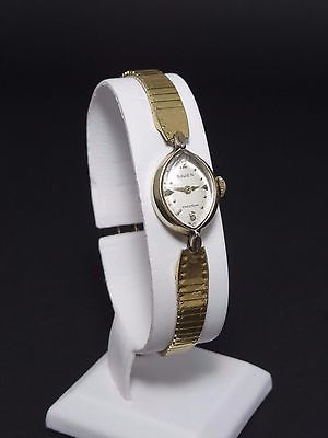 Vintage Gruen Precision Ladies Wrist Watch 10k RGP Swiss Made