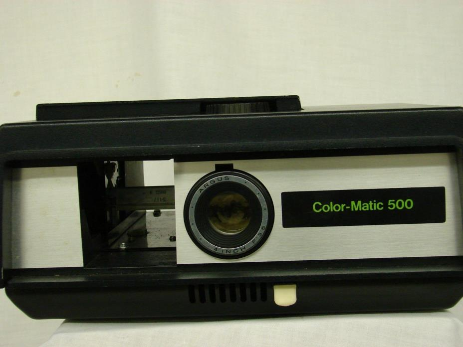 Argus Color-Matic 500 Slide Projector