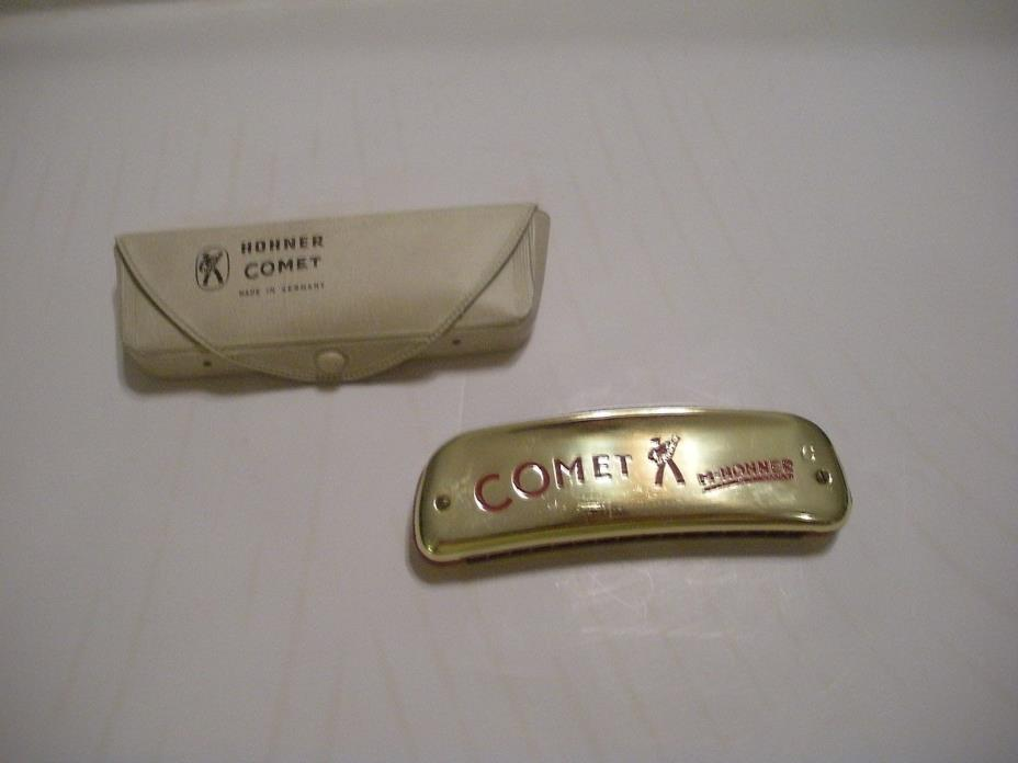 Vintage HOHNER Comet Harmonica- Made in Germany