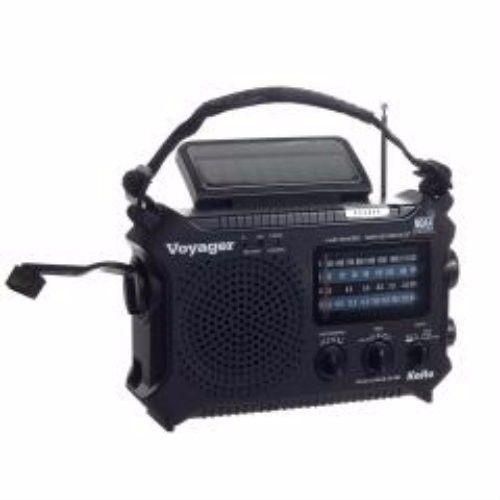 Emergency Essentials Kaito Voyager Radio - Black